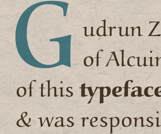 Alcuin usage sample