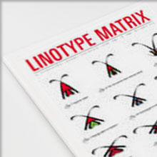Linotype Matrix Vol. 4 No. 1