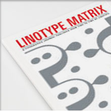 Linotype Matrix Vol. 4 No. 2