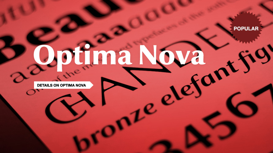 Optima nova usage sample