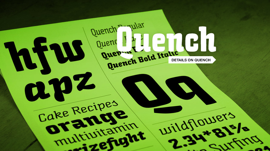 Quench usage sample