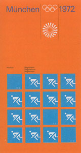 "Universâ""¢ was used for the corporate image of the Olympic Games in Munich, 1972"