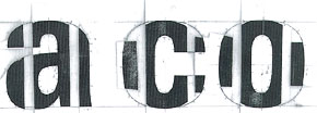 The first designs were drawn by hand in close collaboration with Adrian Frutiger