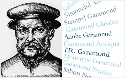 Garamond - Linotype Font Feature