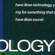 Fonts in Use: Bose