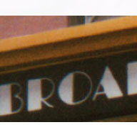 Fonts in Use: Broadway_Inn