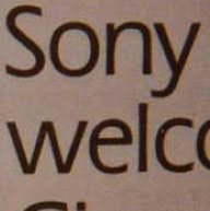 Fonts in Use: Sony