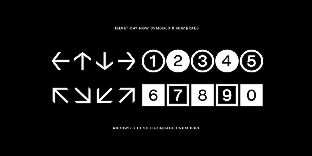 Helvetica Now - The Palette