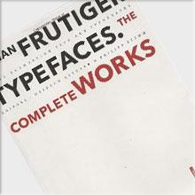 Adrian Frutiger – Typefaces