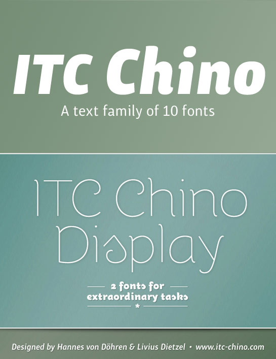 ITC Chino usage sample
