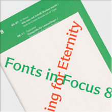 Fonts in Focus 8