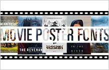 Oscar-winning Movie Fonts 2016