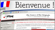 Bienvenue à Linotype.com