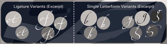 Hamada Script font sample
