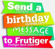 Dear Adrian Frutiger