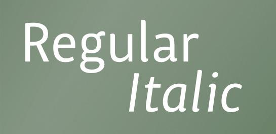 Italic designs