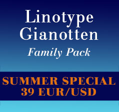 Linotype Gianotten Font Family Promotion