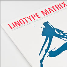 Linotype Matrix Vol. 4 No. 3