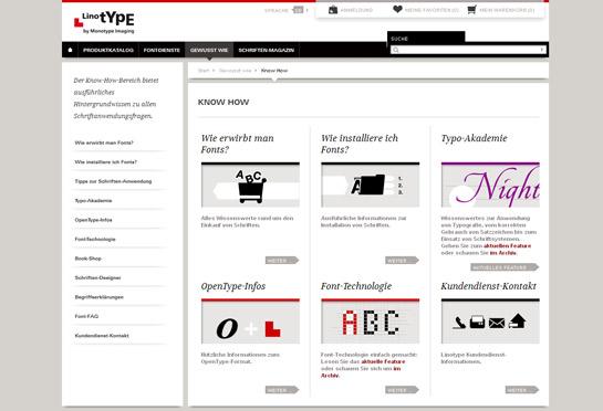 Linotype vermittelt Besuchern Wissenswertes rund um Fonts