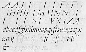 Typeface study, 1918