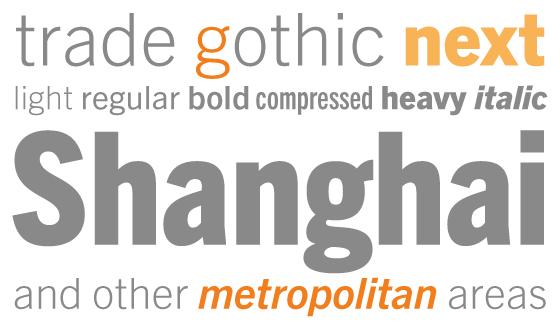 Trade Gothic Next