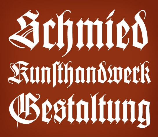 Wilhelm Klingspor Gotisch usage sample