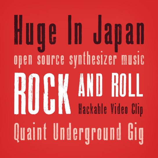 Rock Music Cover Fonts Font News